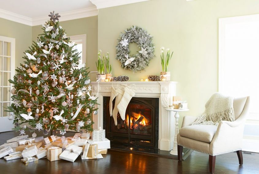 popular-white-christmas-party-decorations